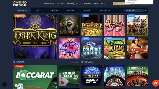 Casino Portugal Jogos Online