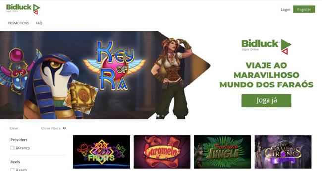 Bidluck - Casino Online